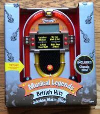 British Hits Jukebox Alarm Clock