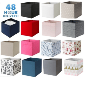 4x Ikea Boites De Rangement Drona Magazine Kallax Etagere Etagere Boite 48 H Livraison Ebay