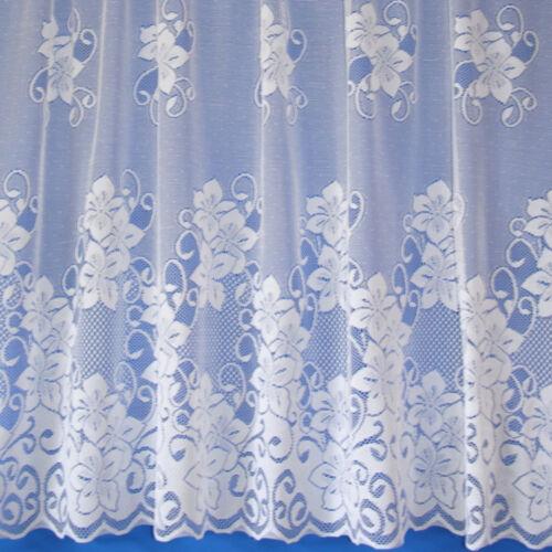 lyndsey floral valeur qualite neuf dentelle blanche filet rideaux vendu au metre maison rideaux cantonnieres alfa bau gmbh de
