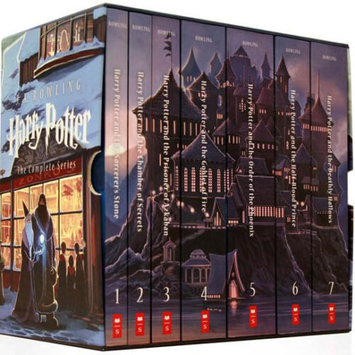 Image result for harry potter series book box set