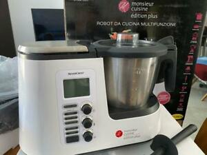 dettagli su lidl silvercrest monsieur cuisine plus robot cucina mixer bimby regalo natale