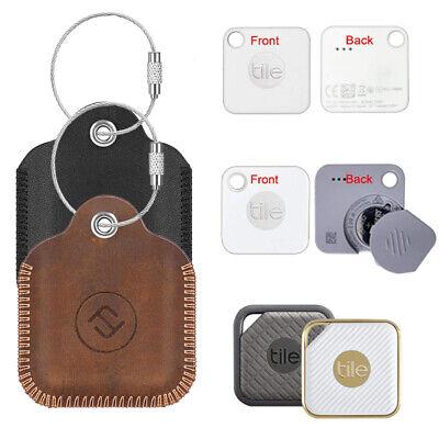 fintie leather case for tile mate 2020 2018 tile pro tile sport style key finder ebay