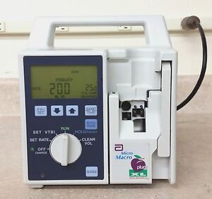 Abbott Plum XL Micro Macro IV Pump. Patient Ready with 90 day Warranty | eBay