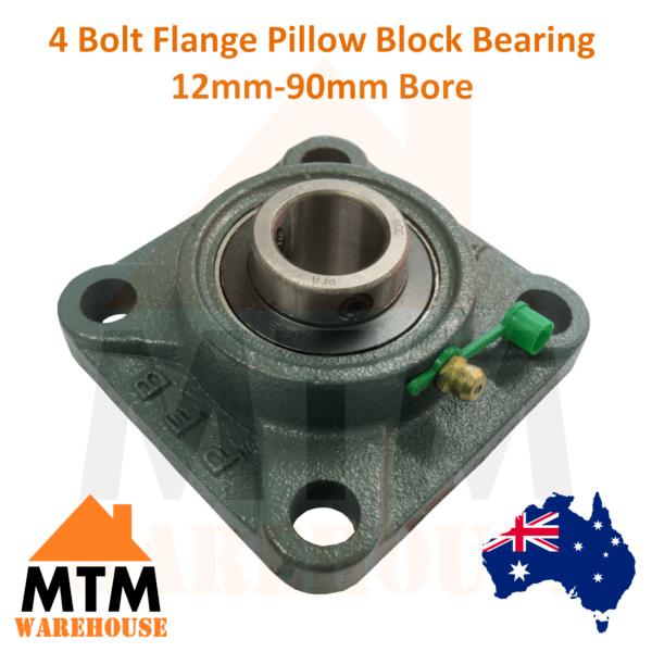 ucf 4 bolt flange pillow block bearing