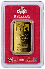 Republic Metals 1 oz. Gold Bar (Sealed/Red Assay Card) SKU44285