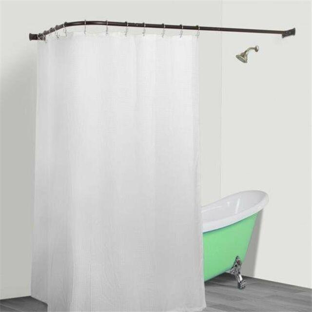 قائمة طعام القيادة طائر l shaped shower curtain rod