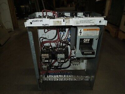 Siemens-Allis Model 90 Size 2 FVR Starter Bucket Breaker 1 ...
