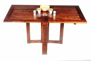 Details About Dining Table For Small Es Apartment Size Furniture Kitchen Drop Leaf Folding
