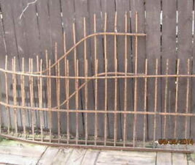 Image Is Loading  Antique Wrought Iron Fencing Railing Sections