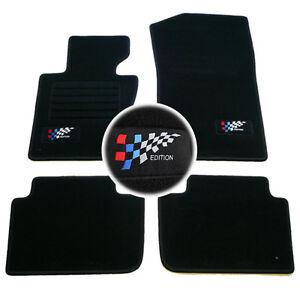 details sur 4 tapis sol bmw x3 e83 sport design pack m moquette logo edition m sur mesure