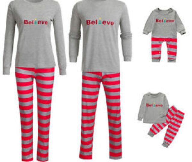 Image Is Loading Family Matching Christmas Womens Mens Baby Kids Sleepwear