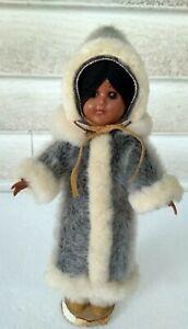 Vintage Native American Eskimo Doll Alaska Inuit with ...