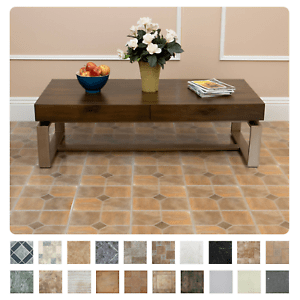 details about marble stone pattern self adhesive peel n stick vinyl floor tile 20 pc 12 x12