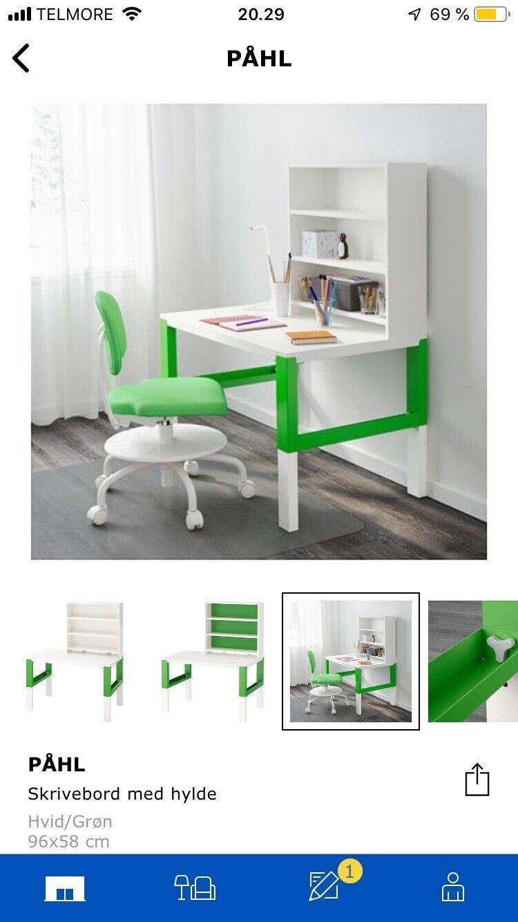 Skrivebord Ikea Pahl Dba Dk Kob Og Salg Af Nyt Og Brugt
