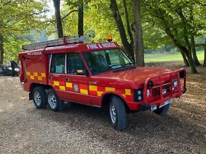 Land Rover Range Rover Classic Carmichael TACR2 Fire and Rescue 6x4 or 6x6