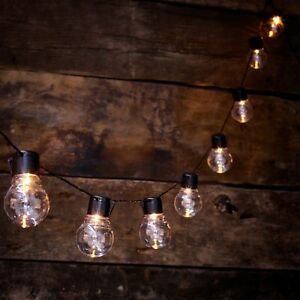 details about new solar powered retro bulb string lights for garden outdoor fairy summer lamp