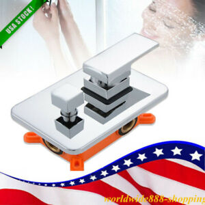 details about shower valve embedded box 2 way wall mount mixing diverter faucet valve copper