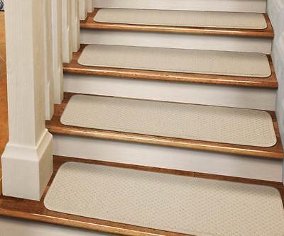 Set Of 15 Dean Skid Resistant Carpet Stair Treads Runner Rugs   Stair Treads And Runners   Flooring   Hardwood   Staircase   Bullnose Carpet Runners   Treads Carpet