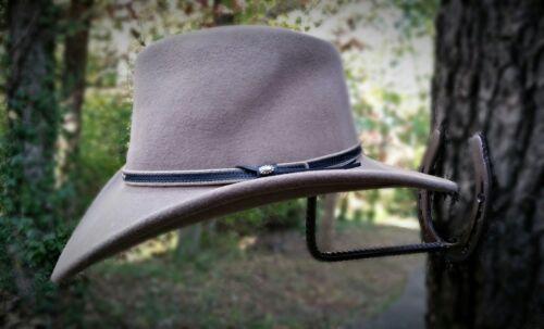 home garden american made horseshoe cowboy hat rack real horseshoes blacksmith home organization