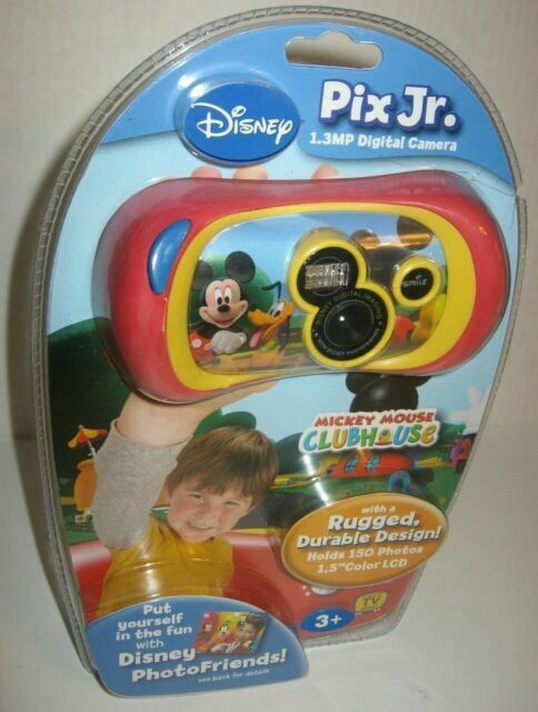 Disney Mickey Mouse Clubhouse 1 3mp Digital Camera Red For Sale Online Ebay