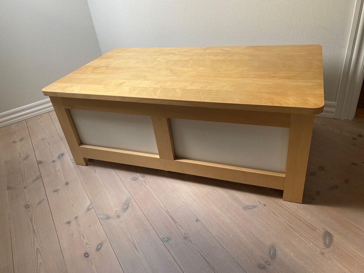 Bord Med Opbevaring Ikea Ndash Dba Dk Ndash Kob Og Salg Af Nyt Og Brugt
