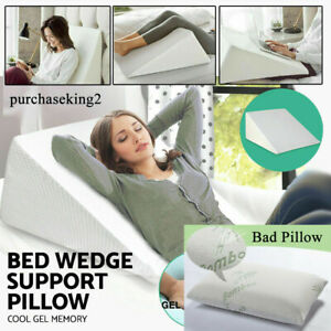 us large bed wedge pillow leg elevated