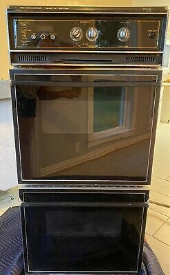 vintage kitchen aid wall double oven ebay