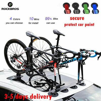 rockbros sucker roof top bicycle rack carrier easy install roof rack bike holder ebay