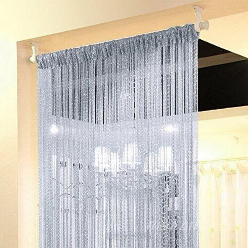 chaine 1 2 rideau de fenetre porte diviseur transparent rideau cantonniere porte traitement maison