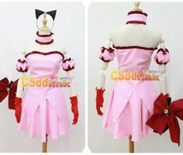 Image Is Loading Tokyo Mew Mew Power Zoey Cosplay Pink Costume