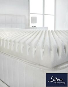 Image Is Loading 2 034 Deep Memory Foam Mattress Topper Profile