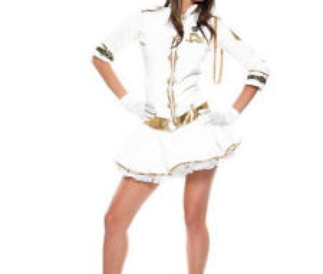 Das Bild Wird Geladen Sexy Navy Girl Kostuem Uniform Matrosin Marine