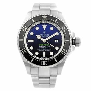 Rolex Deepsea Sea-Dweller James Cameron Steel Blue Black Dial Mens Watch 116660