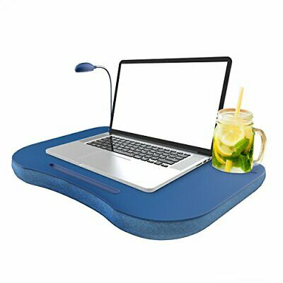 portable laptop lap desk pillow foam cushion computer bed tray table accessories ebay