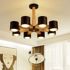 Image Is Loading New Wood Log Style Modern Simple Living Room