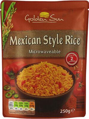 golden sun microwave rice mexican 250g ebay