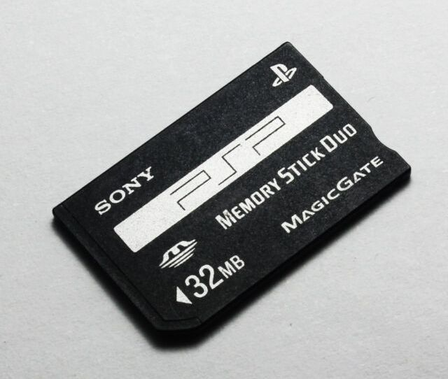 Sony 32mb Memory Stick Duo Ms Card Non Pro For Sony Psp And Old Cameras