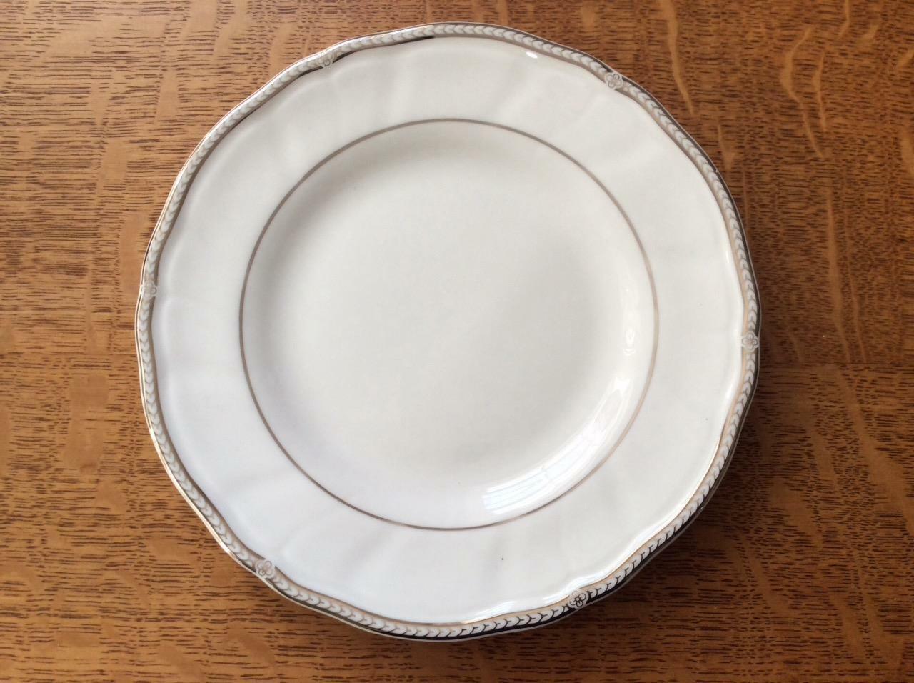 Pfaltzgraff Heritage White Stoneware Ceramic Salt and Pepper Shakers 5.75″ Tall