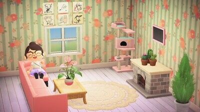 Animal Crossing New Horizons Pink Living Room Furniture ... on Animal Crossing New Horizons Living Room  id=76924