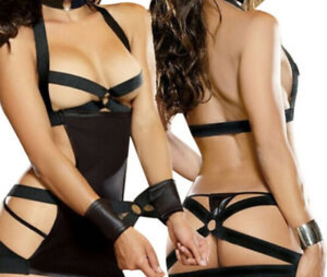 Image Is Loading Sexy Lingerie Hot Erotic Lingerie Sexy Backless Leather