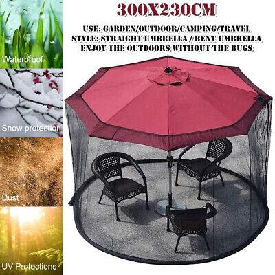 300x230cm garden patio umbrella cover sunshade netting outdoor bar anti mosquito ebay