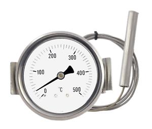 details sur thermometre pour four a pizza barbecue poele a bois a 500 degres capillaire