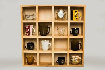 coffee mug shelves tea cup shelf mug cubby wall mounted shelves mug wall shelf ebay