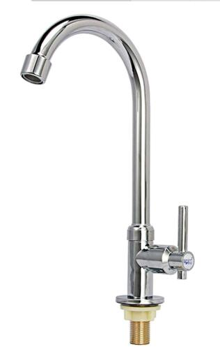 plumbing fixtures easy install stainless steel bathroom faucet single handle single hole high arc faucets