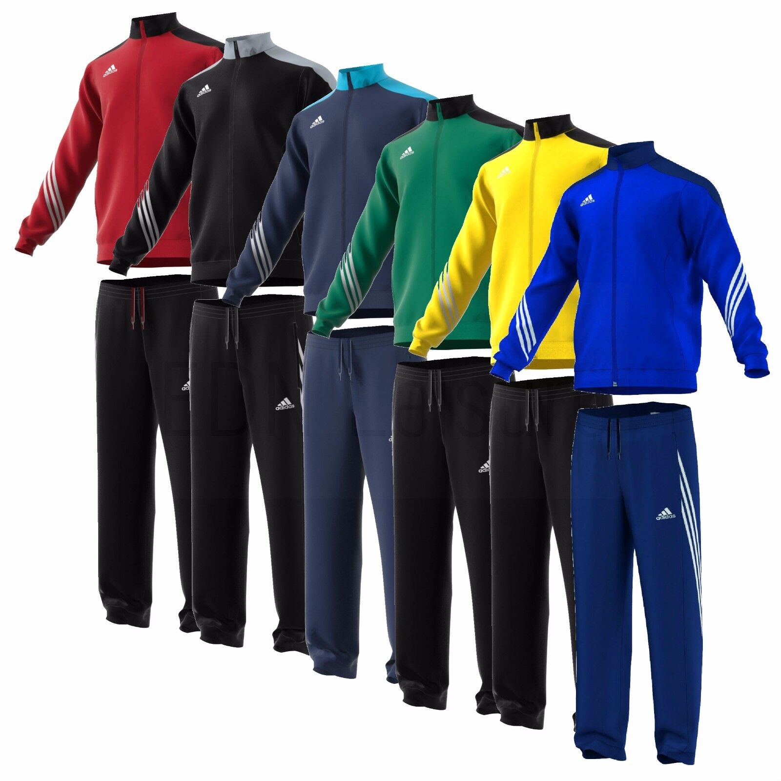 Adidas Boys Tracksuits Kids Junior Football Tops Pants