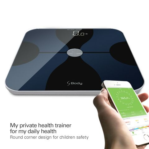 Smart Body Fat Composition Scale with iOS & Android App for Body Weight & BMI 8
