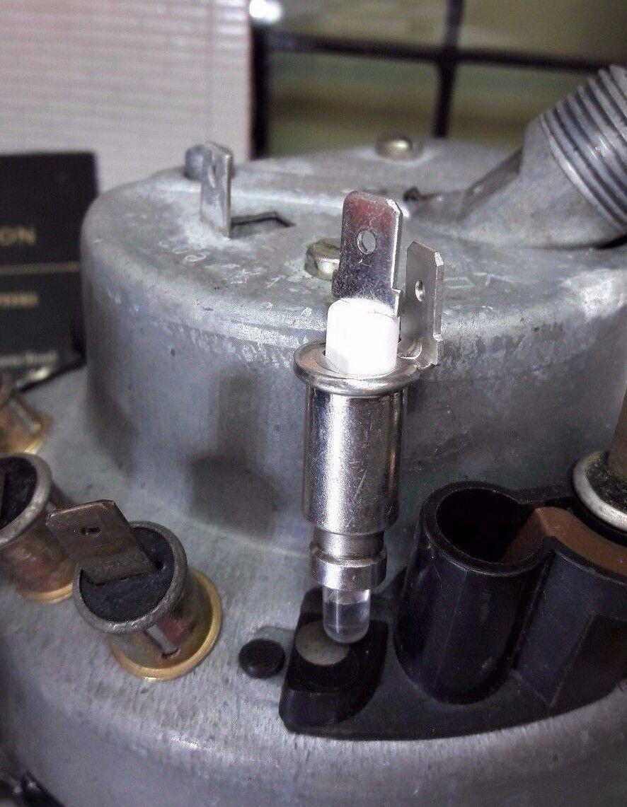 Image 21 - VW Splitscreen Bay 12V Dash Gauge Warning Light GLB281 BA7s LED Bulb & Holder