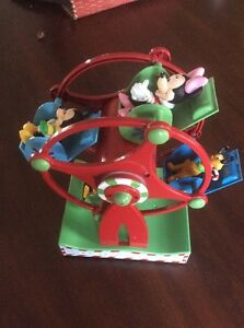 Image Is Loading Gemmy Disney Mickey Minnie Donald Pluto Holiday Ferris