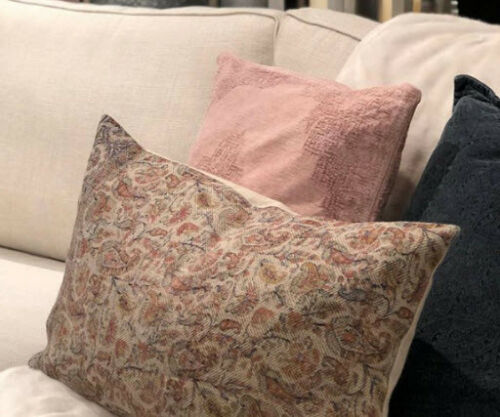 pottery barn jaxton lumbar pillow cover 16x26 rustic floral paisley new home decor patterer home decor pillows