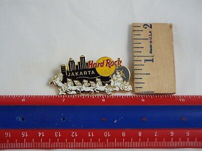 HARD ROCK CAFE LAPEL PIN JAKARTA HORSE TEAM | eBay